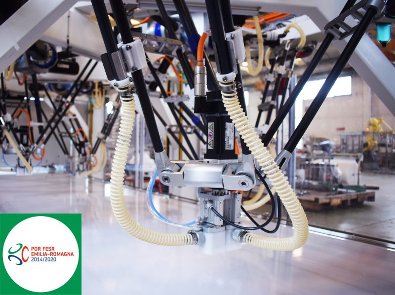 Future CT Pack's smart robot awarded among best R&D projects in Emilia-Romagna